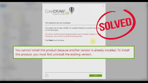 corel draw x5 runtime error fix corel draw x8 you cannot install this product because another