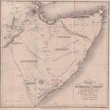 Map Of Somalia Maps Mogadishu Images From The Past