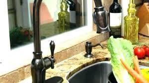 brushed bronze kitchen faucet magnificent chagne bronze kitchen faucet 1 mydts520
