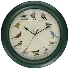 amazon com mark feldstein original singing bird clock 10 7 inch
