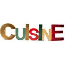 lettre cuisine deco antic line creations lettre décorative cuisine pas cher achat