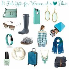 fab gifts for women who love blue the happy housie