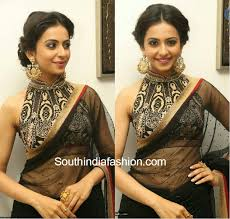 halter neck blouse 10 collared neck blouse designs for sarees and lehengas 2015