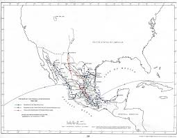 Queretaro Mexico Map by Mexicanhistory Org Mexican History From Ancient Times To Today