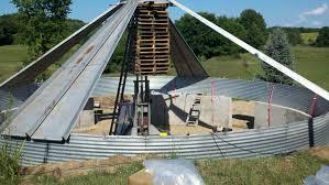 How To Build A Floor For A House Home Design Used Grain Silo For Sale Grain Bin Prices Corn