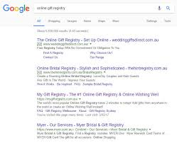 my bridal registry seo gold coast from certified experts