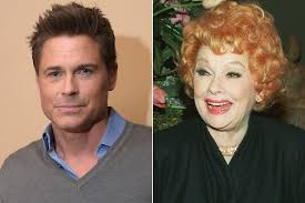 rob lowe tells all on how he u0027killed u0027 lucille ball page six