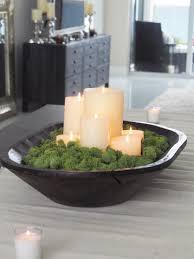 spring greens u0026 candles decorating with dough bowls casa