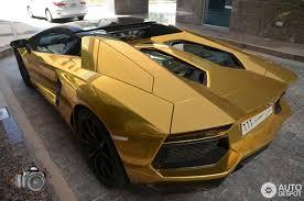gold lamborghini aventador lamborghini aventador lp700 4 roadster is anything but shabby