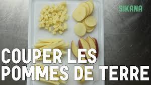 cuisiner la pomme couper des pommes de terre cuisiner des légumes