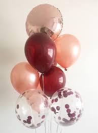 balloon delivery naples fl burgundy gold balloons gold burgundy wedding