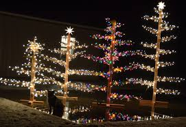 Outdoor Lighted Trees Outdoor Lighted Trees Janinewashle