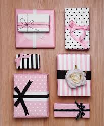pink gift wrap fancy gift wrapping ideas the koch