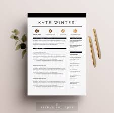 Resume Samples Graphic Designer by Resume Template 4 Pages Cv Template Cover Letter For Ms