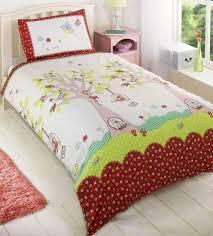 girls double bedding sweet little birdies bird cage girls double bed duvet cover quilt