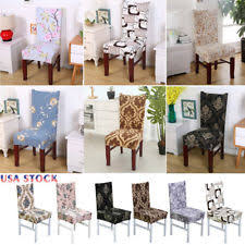 Dining Room Seat Cover Dining Room Chair Slipcovers Ebay