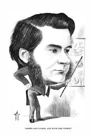 cartoon portraits and biographical sketches of men of the day