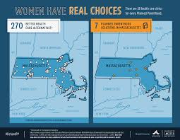 Massachusetts State Map by Maps Health Clinics Nationwide Compared To Planned Parenthood