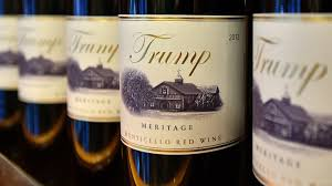 trump wine local promotion or presidential product placement npr