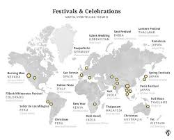 what are some unique events and festivals held around the world