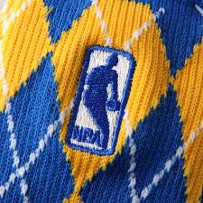 nba logo s day socks royal blue gold fanatics