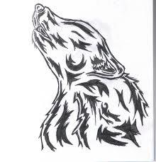 tribal wolf tattoo design 2 by wolfcaz millure on deviantart