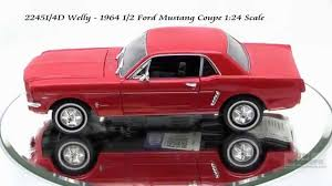 22451 4d welly 1964 ford mustang coupe 124 scale diecast wholesale