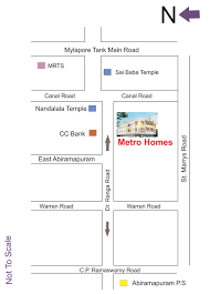 Chennai Metro Map by Overview Metro Homes At Chennai Metro Homes Chennai