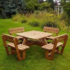 Diy Wood Picnic Tables by Diy Building Plans For A Picnic Table Carpinteria Pinterest