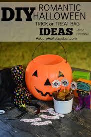 diy romantic trick or treat bag ideas