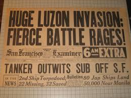 buy dec 22 1941 san francisco examiner world war ii invasion