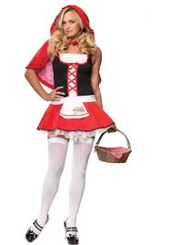 red riding hood halloween costumes little red riding hood costume by leg avenue escapade uk