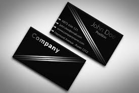 card photo business card template