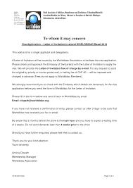 canada visa invitation letter sample free business invitation letter samples wedding invitation sample