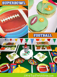 football party ideas football birthday party ideas or bowl party ideas