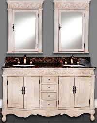 60 Inch White Vanity 60 Antonia Vanity 60inch Sink Chest Antique White Vanity