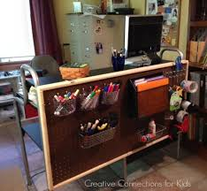 School Desk Organization Ideas Diy Pegboard Organization
