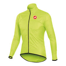 fluorescent waterproof cycling jacket wiggle castelli squadra long water resistant jacket cycling