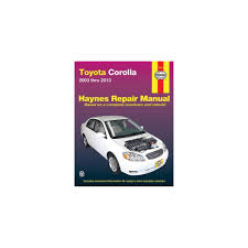 isbn 9781620922491 toyota corolla automotive repair manual 2003