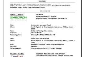 Electronics Engineer Resume Sample by Resume Sample For Electronics Test Engineer Electrici Resume