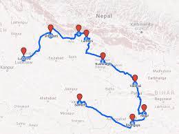 Map Of Nepal India by Along The Path U2013 India U0026 Nepal Pilgrimage