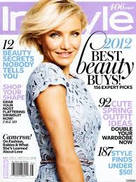 cameron diaz instyle cover features the in couture
