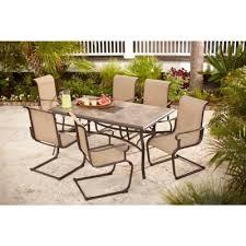 amazing sling chair patio dining sets savannah padded sling