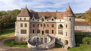 historic medieval styled french chateau overlooking a breathtaking historic medieval styled french chateau overlooking a breathtaking