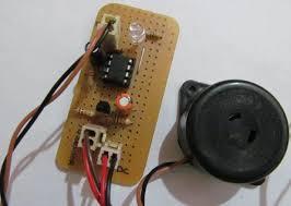 door opening alarm alert circuit