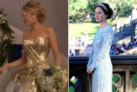 blair wedding dress blair and serena s gossip finale wedding gowns vote for