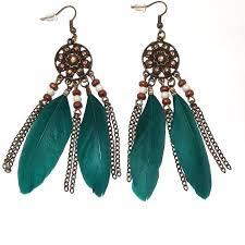feather earrings nz indian feather earrings silver surfers