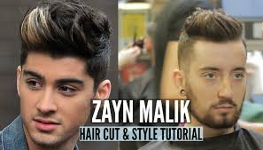 zayn malik hairstyle tutorial 2015 how to jake daniels youtube