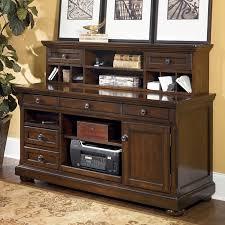 Ashley Furniture Hutch Porter Credenza W Low Hutch Signature Design By Ashley Furniture