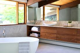 mid century modern bathroom design mid century modern deck house master suite midcentury bathroom